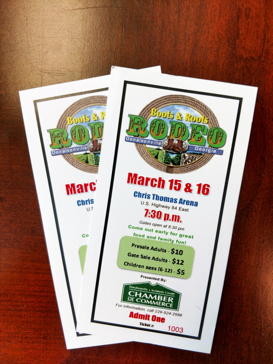Rodeo Tickets Now On Sale The Donalsonville News