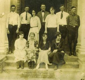 Class of 1921 Buck Roberts