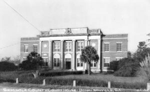 Historical images of Seminole County, GA