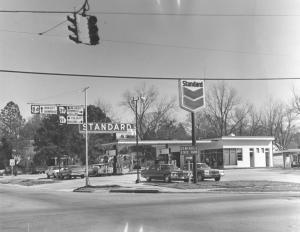 Standard Oil gas station - Marilyn Cunningham