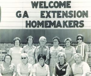 Welcome Ga Ext HOmemakers